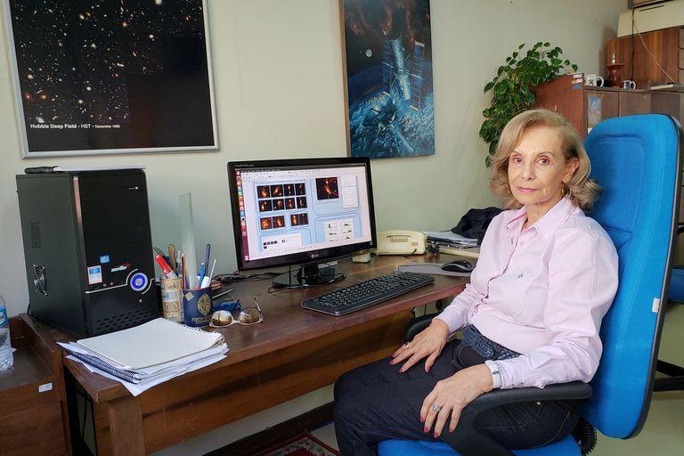 La astrónoma argentina que le da nombre a un tipo de galaxias