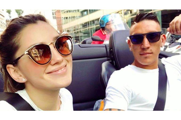 Impactante: falleció la novia de Ricardo Centurión en un accidente automovilístico