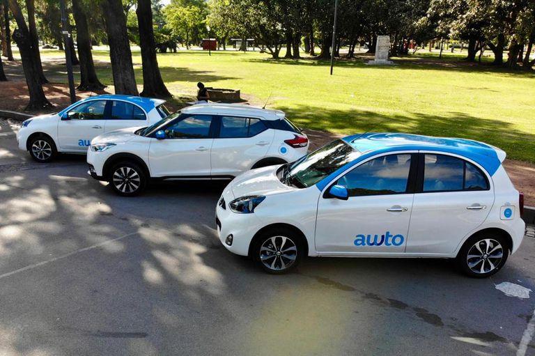 En la modalidad de sharing hay una oportunidad también para empresas como Awto, que ofrecen vehículos que se pueden desbloquear desde una app y devolver en otro punto de la ciudad