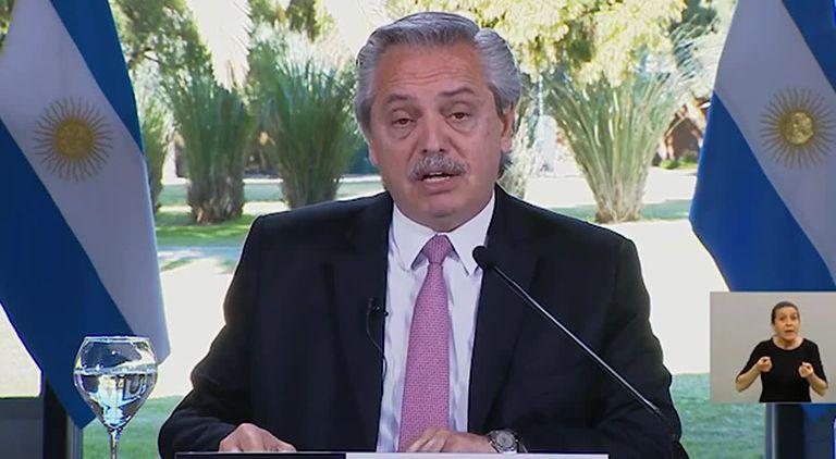 Alberto Fernández le bajó el tono al conflicto de Moyano con Mercado Libre
