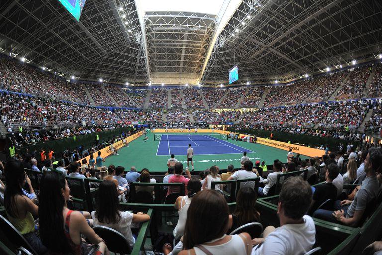 Parque Roca: el gigante de las batallas de la Davis volvió a vivir con Federer