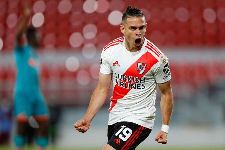 River-Liga: el Millonario construyó una goleada y se quedó con el Grupo D