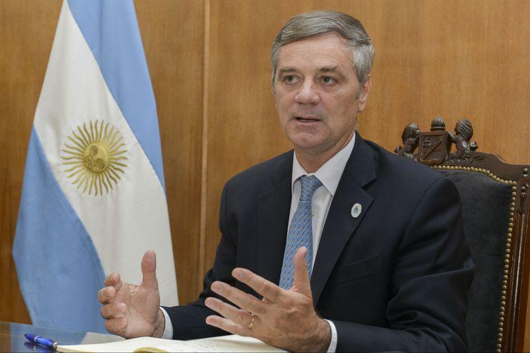 Santiago del Solar, jefe de Gabinete de la Secretaría de Agroindustria