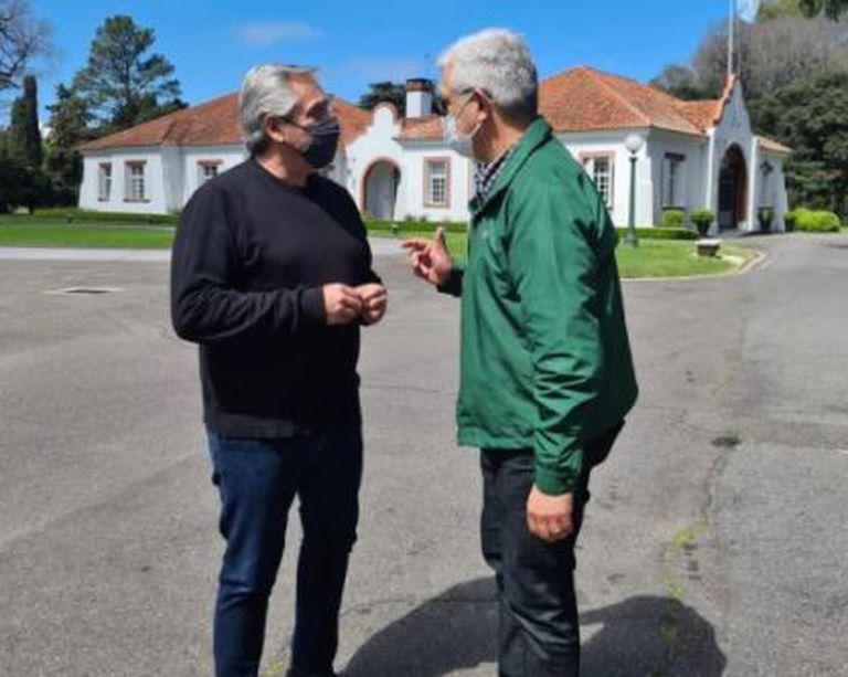 En medio de la tensión con el campo, el Presidente y Manzur recibieron por separado al ministro de Agricultura