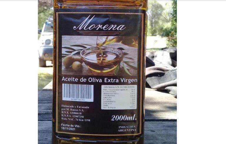 La ingesta del producto investigado habría causado Gastroenteritis Aguda (GEA), en consumidores de la localidad de Nogolí, en San Luis.