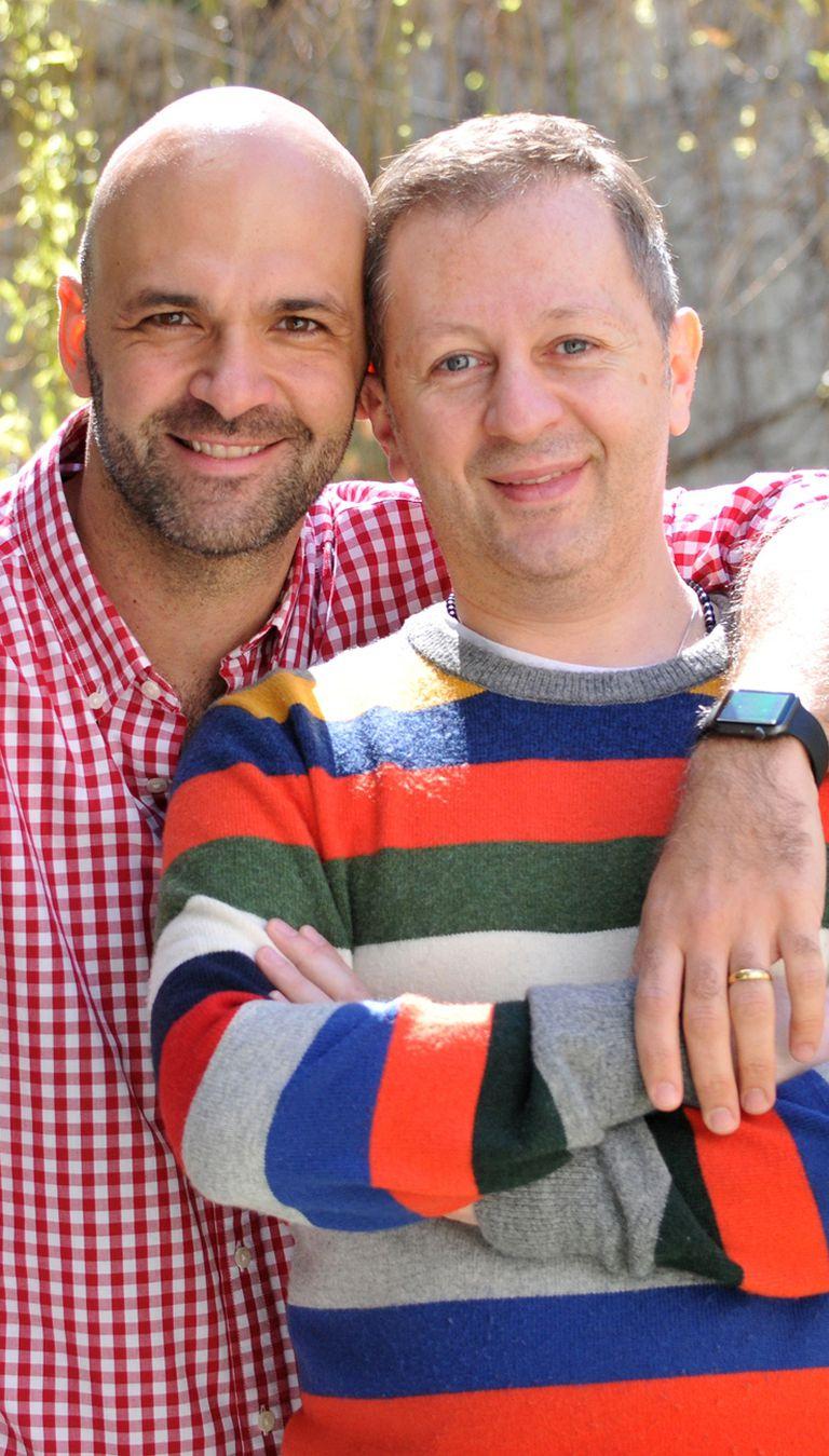 Nicolás Scarpino y Sergio Paglini hablaron de sus ganas de ser padres