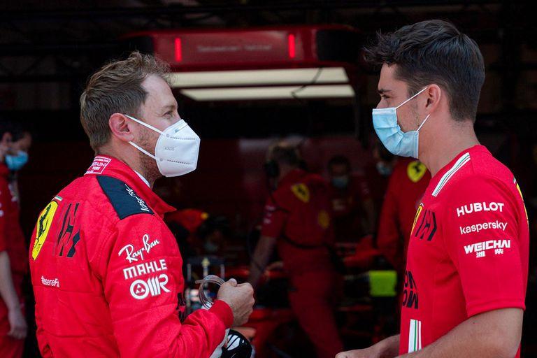 """F-1. Vettel, Leclerc, los problemas de Ferrari y """"la situación sin retorno"""""""