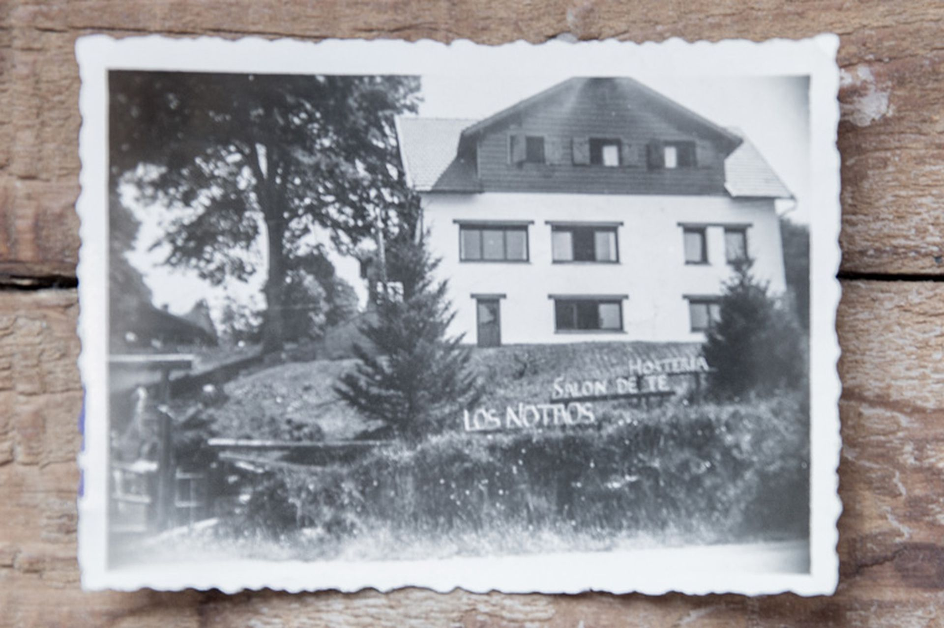 La Hostería Los Notros fue una de las primeras de Bariloche.