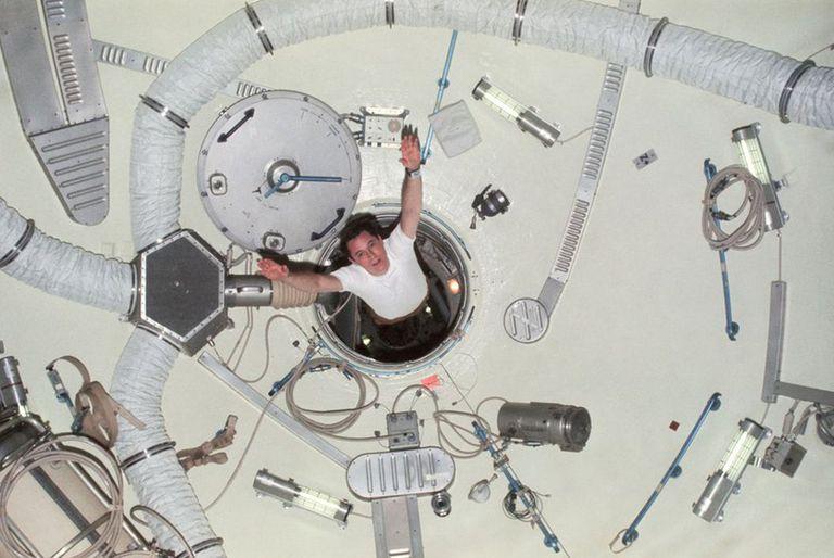 Ed Gibson es el único de los tres tripulantes de la misión Skylab 4 que sigue con vida.