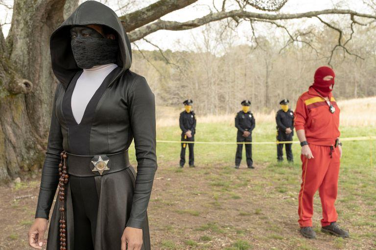 Regina King interpretó a Angela Abar también conocida como Sister Night