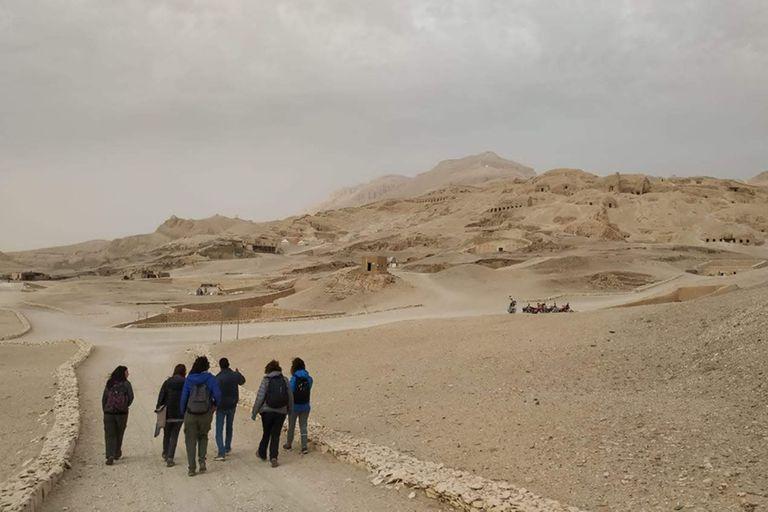 El equipo de investigadores viajó en enero a conocer la zona