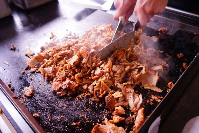 La carne de cerdo es de las que más se ve en las taquerías