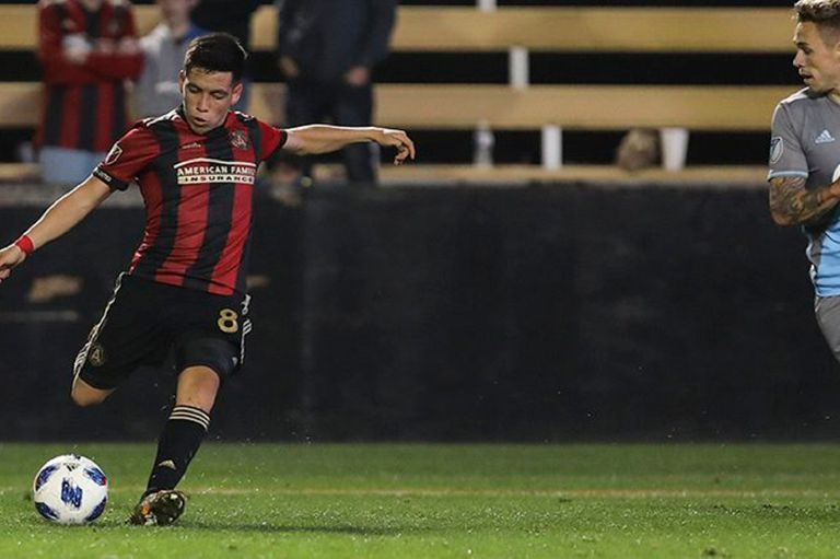 Mientras Independiente se quedaba sin la Recopa, Barco metía su primer gol