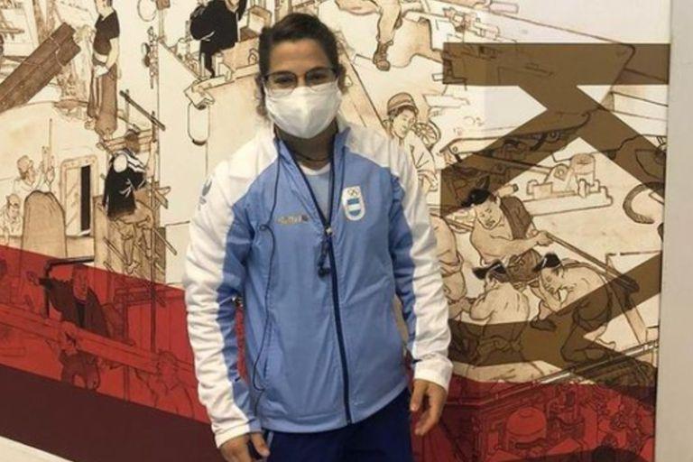 Pareto llegó a Tokio y la Argentina ya tiene su primera atleta en suelo olímpico