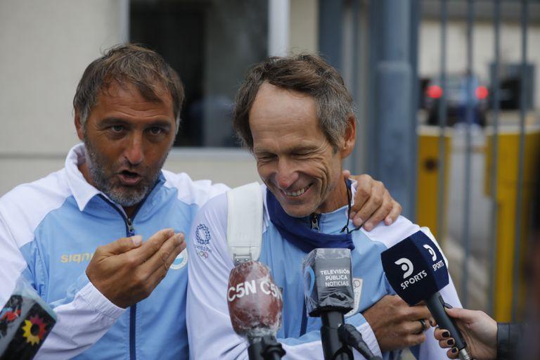 Lange y Retegui, referentes de la delegación olímpica de la Argentina