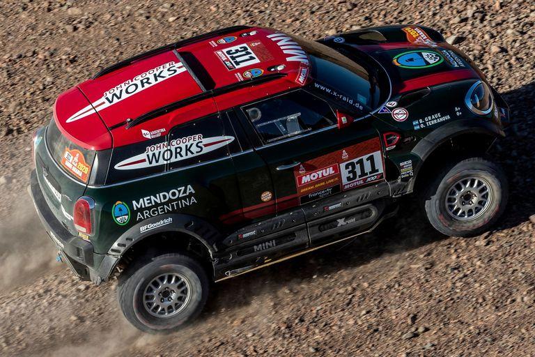 Orly Terranova, en el Dakar 2020, en Arabia Saudita