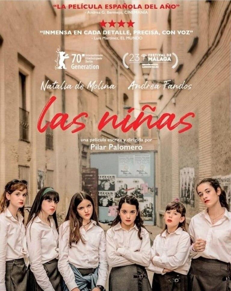 Las niñas, de Pilar Palomero, la ganadora a la mejor película