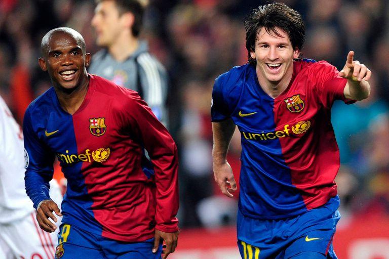 """Vuelve la Liga. El mensaje de Eto'o por la continuidad de """"su hijo"""" Messi"""