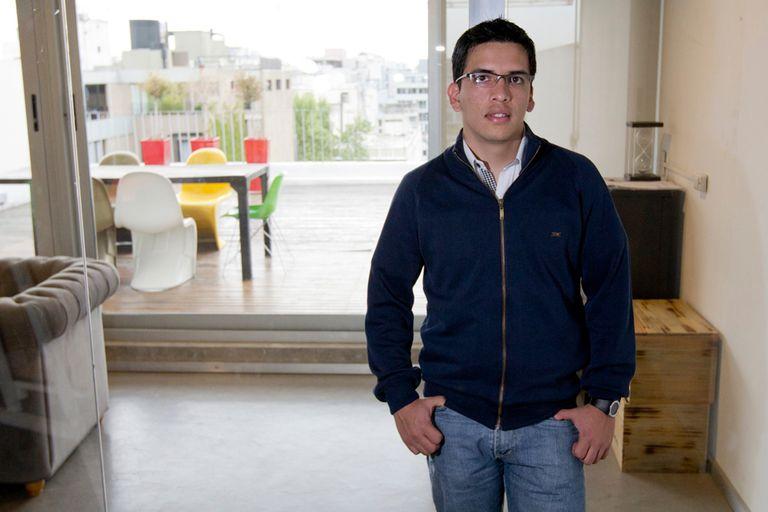 Ezequiel Escobar, uno de los creadores de la aplicación para hipoacúsicos