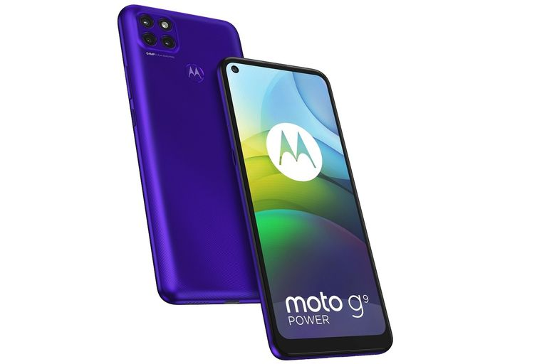 Moto G9 Power: Motorola presentó un teléfono con una batería descomunal