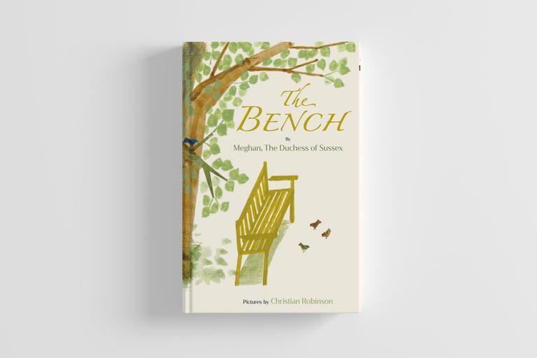 "Portada de ""The Bench"", primer libro para niños de Meghan Markle con ilustraciones de Christian Robinson"