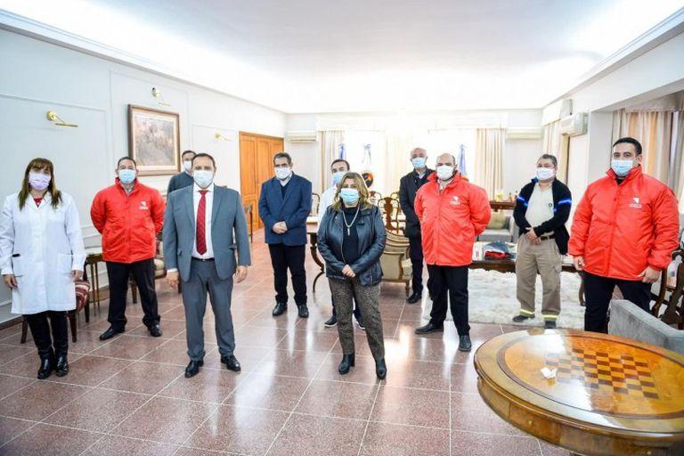 Ricardo Quintela, en la residencia oficial