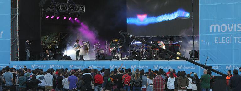 Ya arrancó el Movistar Fri Music que celebra a Sumo