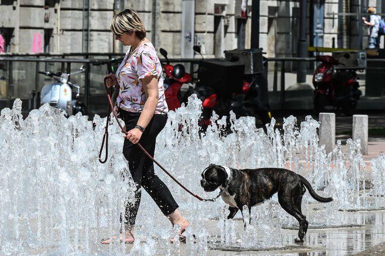 Una intensa ola de calor azota gran parte de Europa