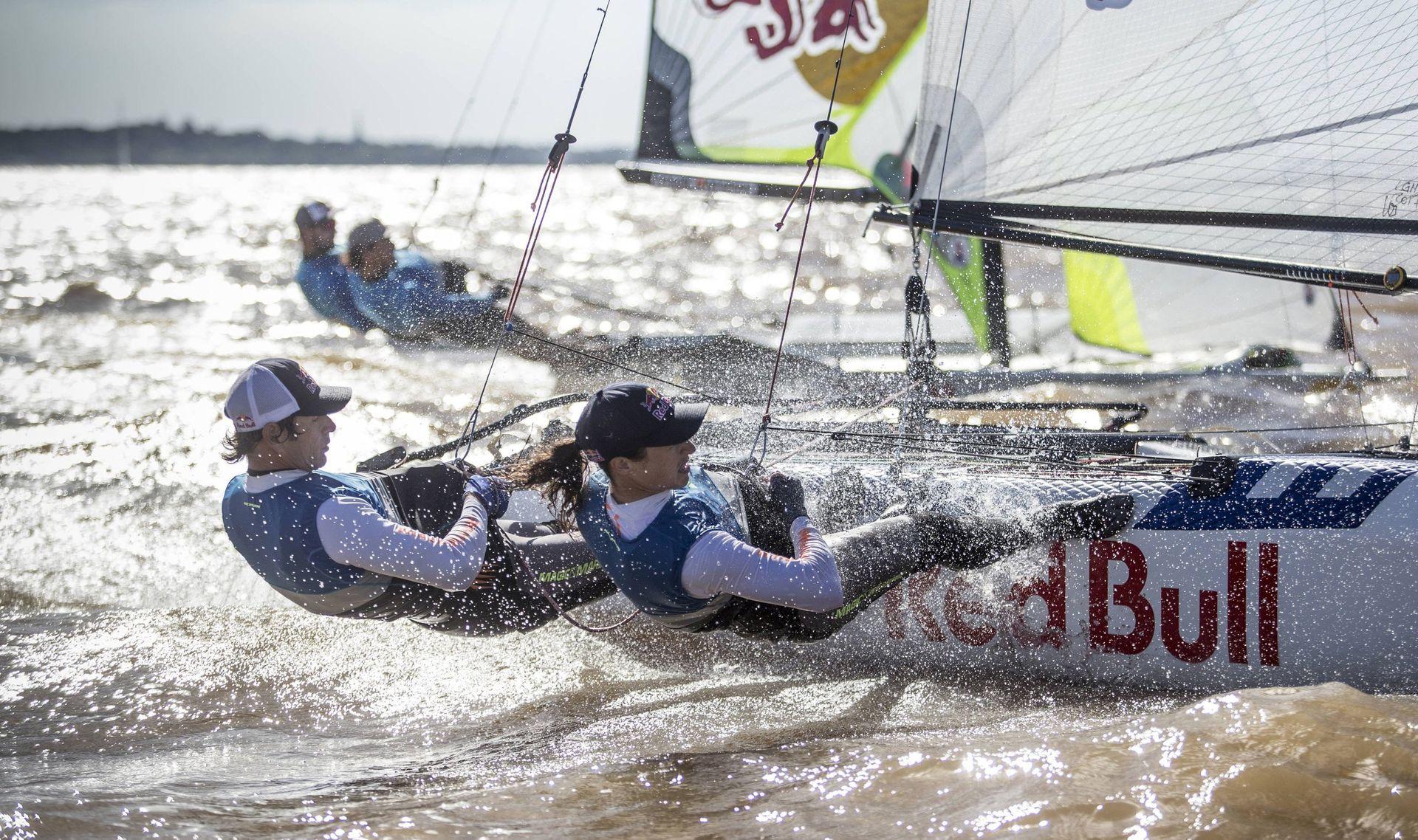 Para Río 2016, Santiago se dio el gusto de compartir la experiencia olímpica con dos de sus hijos, Yago y Klaus, que compitieron en otra de las categorías de vela