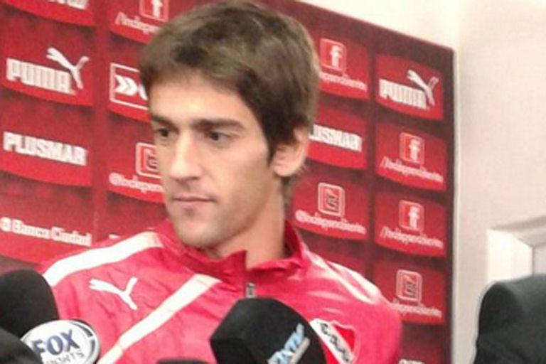 Lucas Albertengo contento con la mejora del Rojo