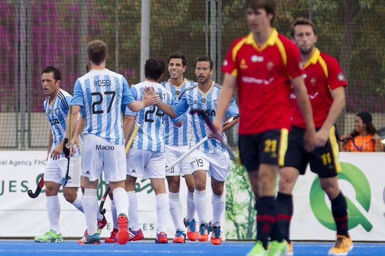 Argentina le ganó a España con autoridad