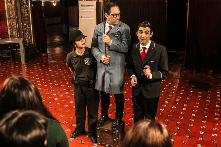 La guiada, la poética propuesta de Gustavo Tarrío que recorre la historia de la sala
