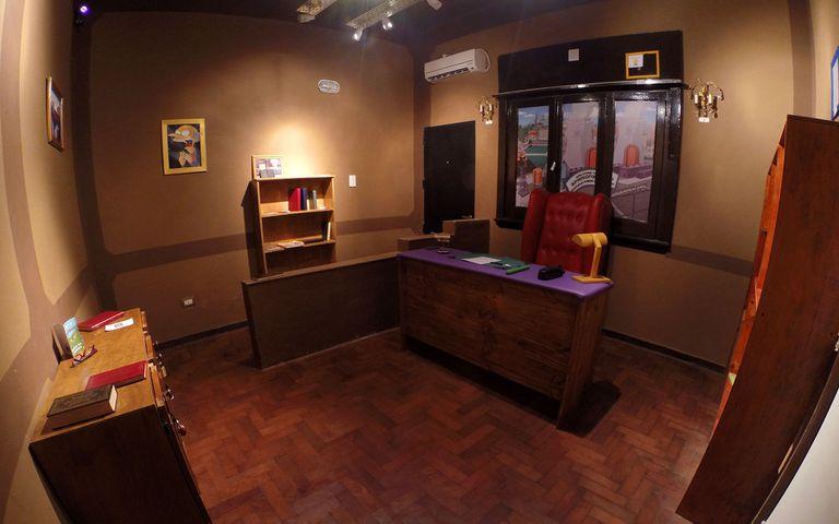 La Oficina del Sr B., una de las salas de Devinette durante 2017.