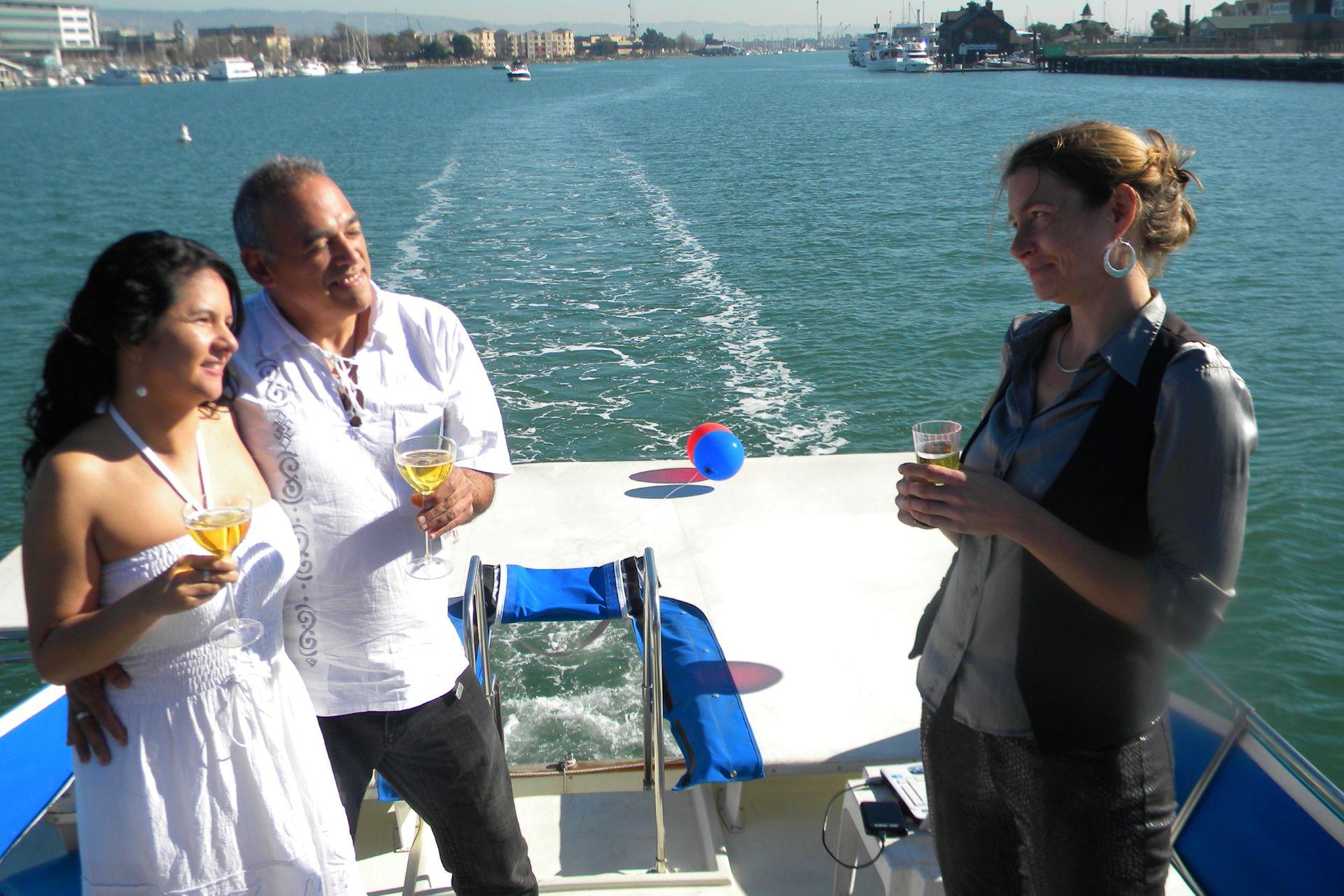 José y Diana aman el mar.