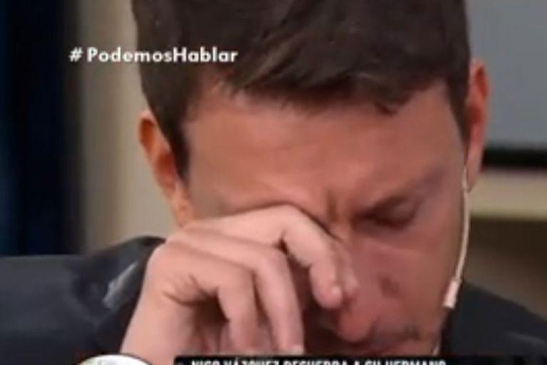 Nicolás Vázquez se emocionó al recordar a su hermano Santiago