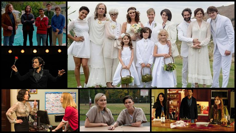 Mejor comedia: Silicon Valley, Transparent, Mozart in the Jungle, Veep, Orange is the New Black y Casual