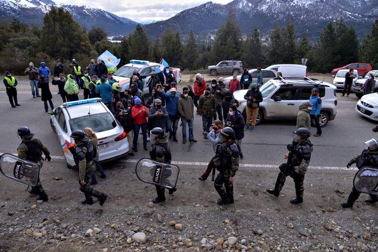 Villa Mascardi: el Ministerio de Seguridad denunció a los manifestantes