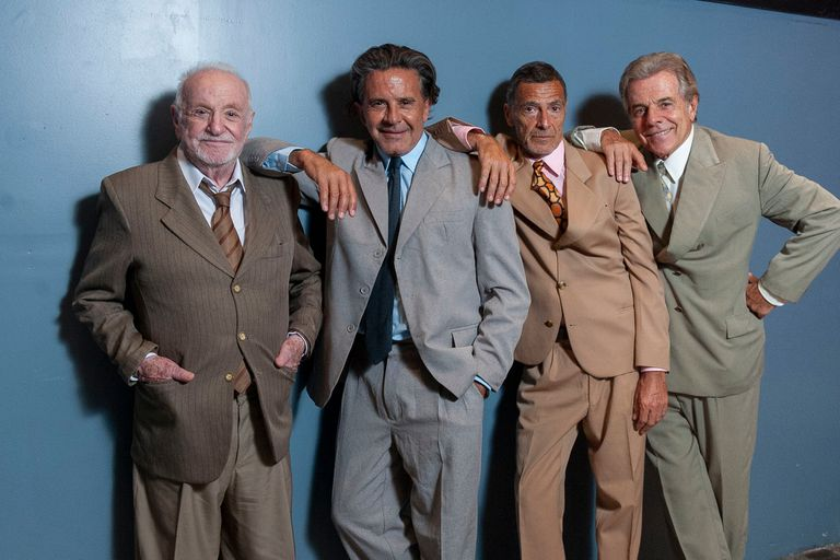 Soriano, Laport, Garzón y Laplace, cuatro actores que hablan del amor