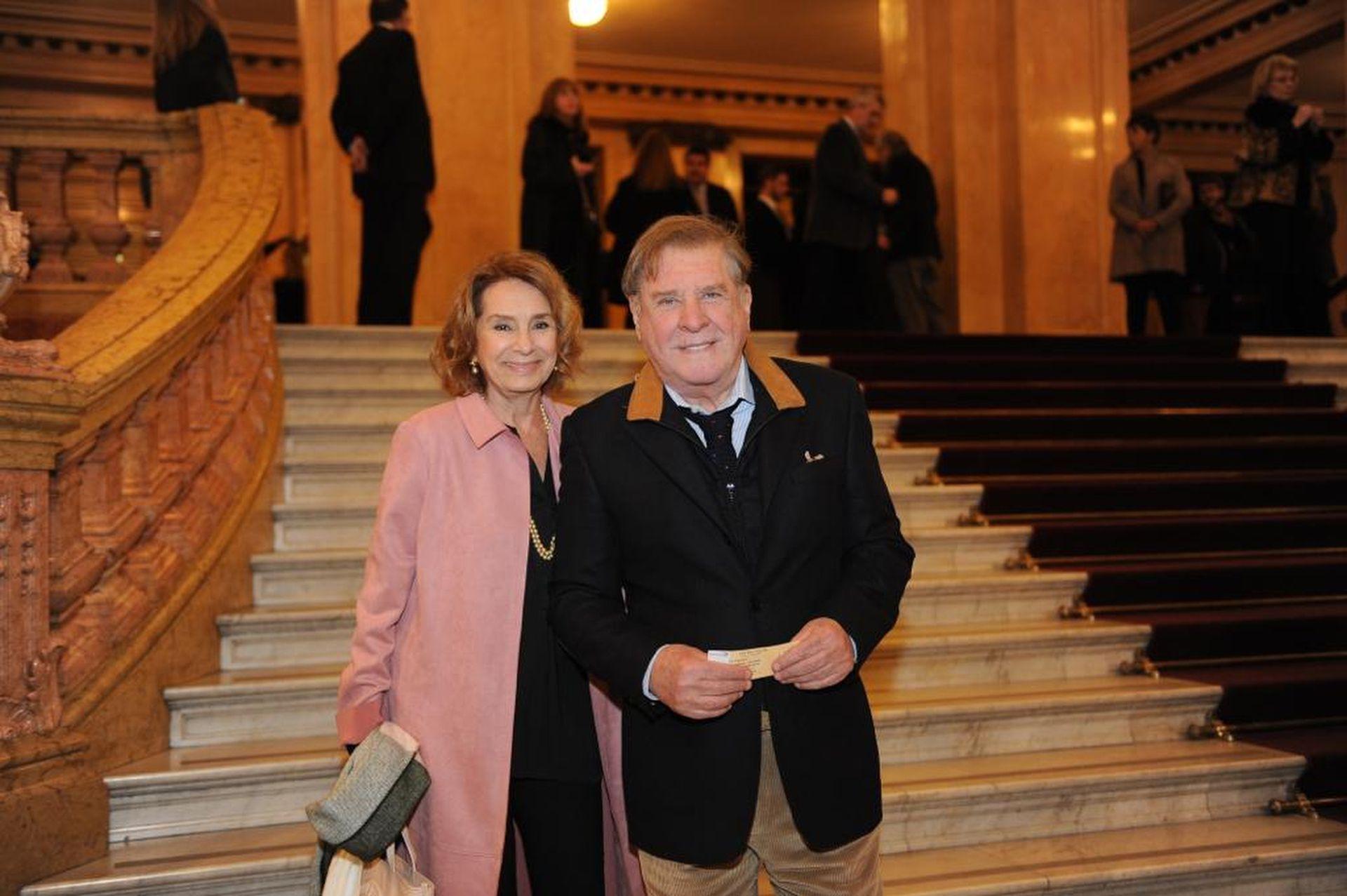 Arturo Puig y su esposa la actriz Selva Alemán