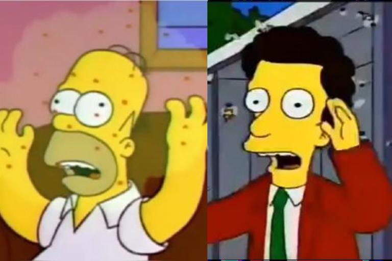 """Coronavirus y """"avispones asesinos"""": el capítulo de Los Simpson que predice 2020"""