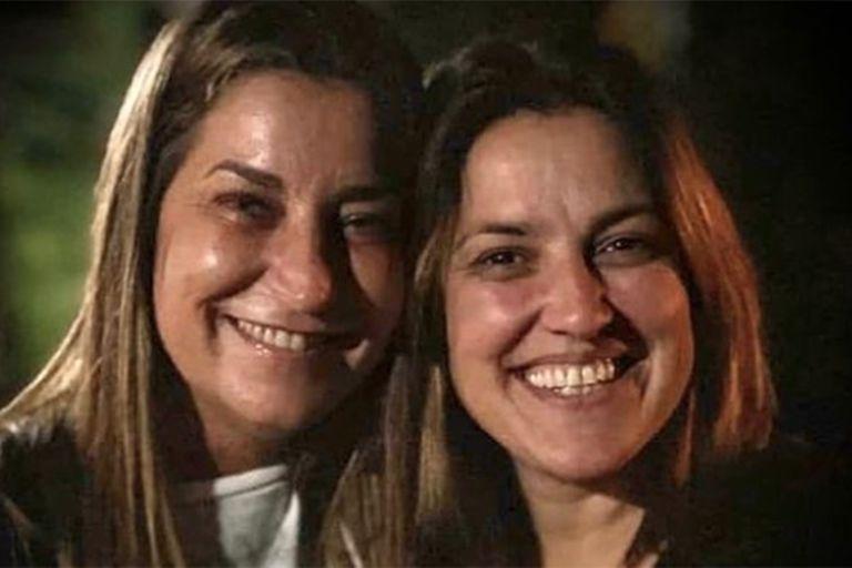 Maju Lozano junto María Eugenia Fiore, una de sus mejores amigas quien falleció este año