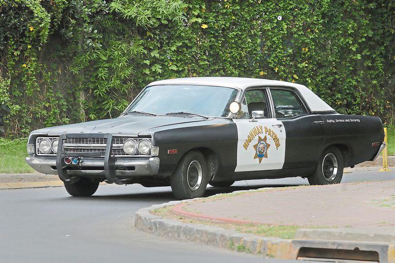 En honor a Chips. El antiguo Ford Fairlane LTD de 6 cilindros fue restaurado a nuevo con piezas importadas de los Estados Unidos para recrear el auto de la mítica serie de los '70