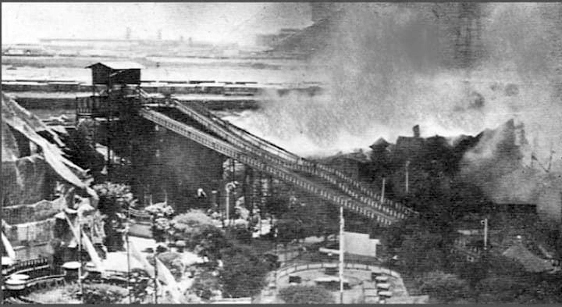 El incendio del Monte Fují marcó el principio del fin del parque.