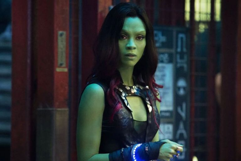 Zoe Saldana toma mate en un video que enloqueció a los fans de Avengers