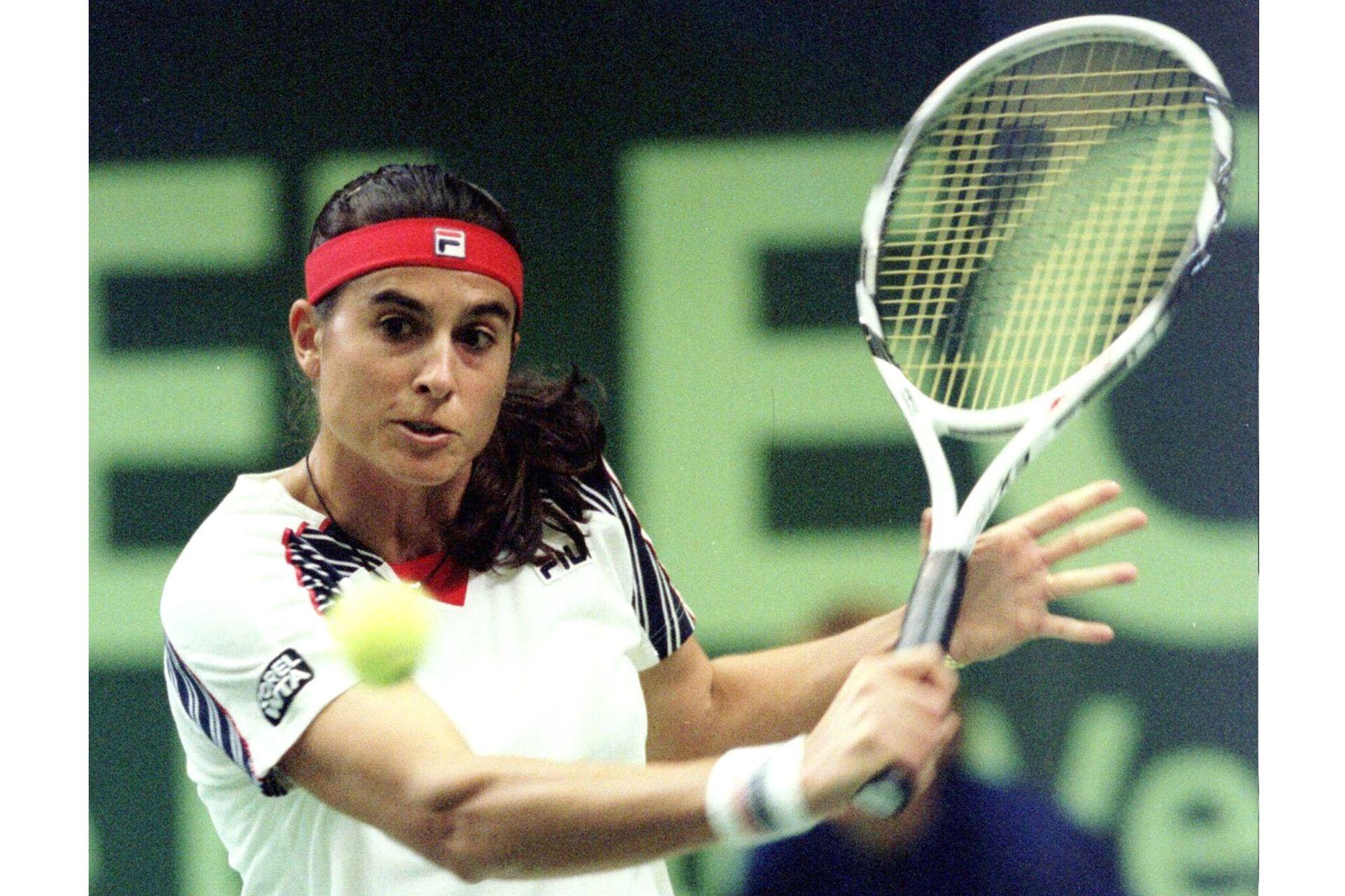 El 15 de octubre de 1996, el último partido oficial de Sabatini: perdió, en la 1a ronda de Zurich, con Jennifer Capriati, por 6-3 y 6-4.
