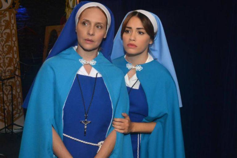 Lali Espósito (aquí con su madre televisiva, Gabriela Toscano) recibió su primera nominación por Esperanza mía