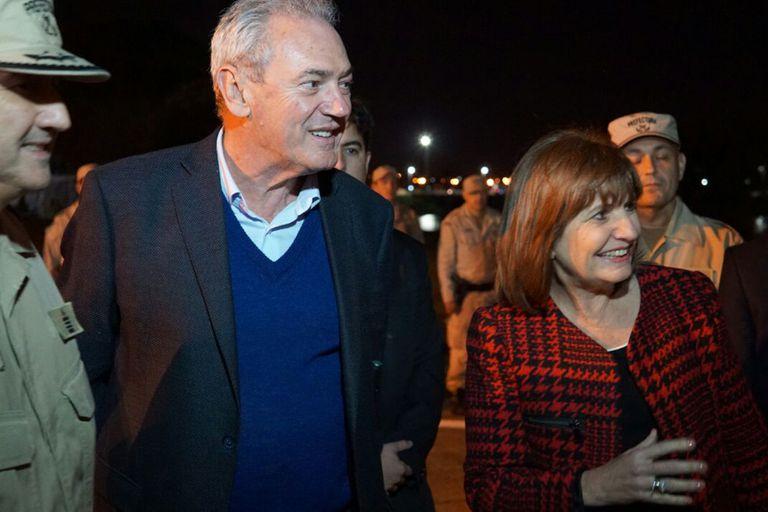 Con acusaciones al PJ, Bullrich agitó el cierre de la campaña entrerriana