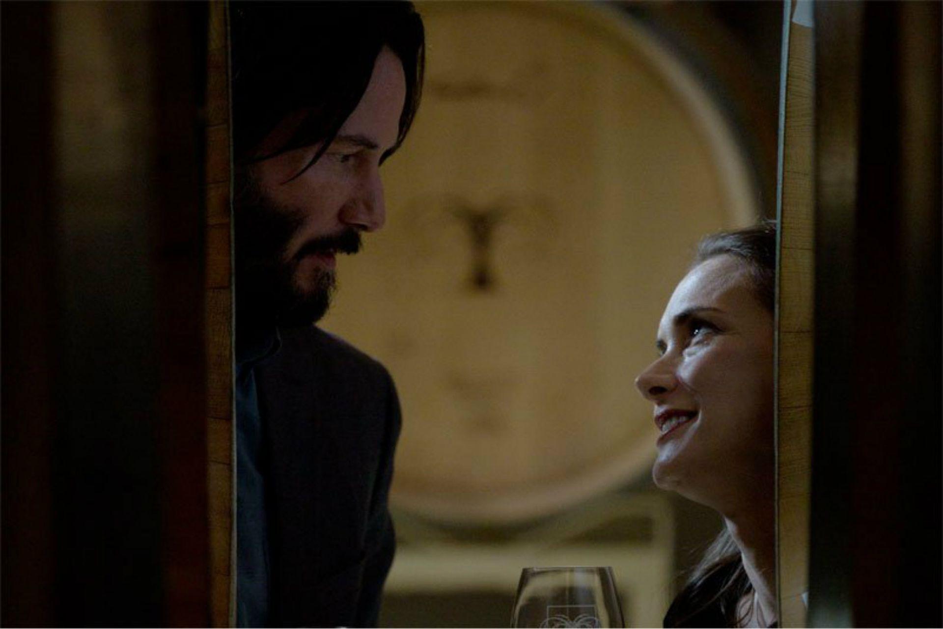 Keanu Reeves y Winona Ryder en Destination Wedding