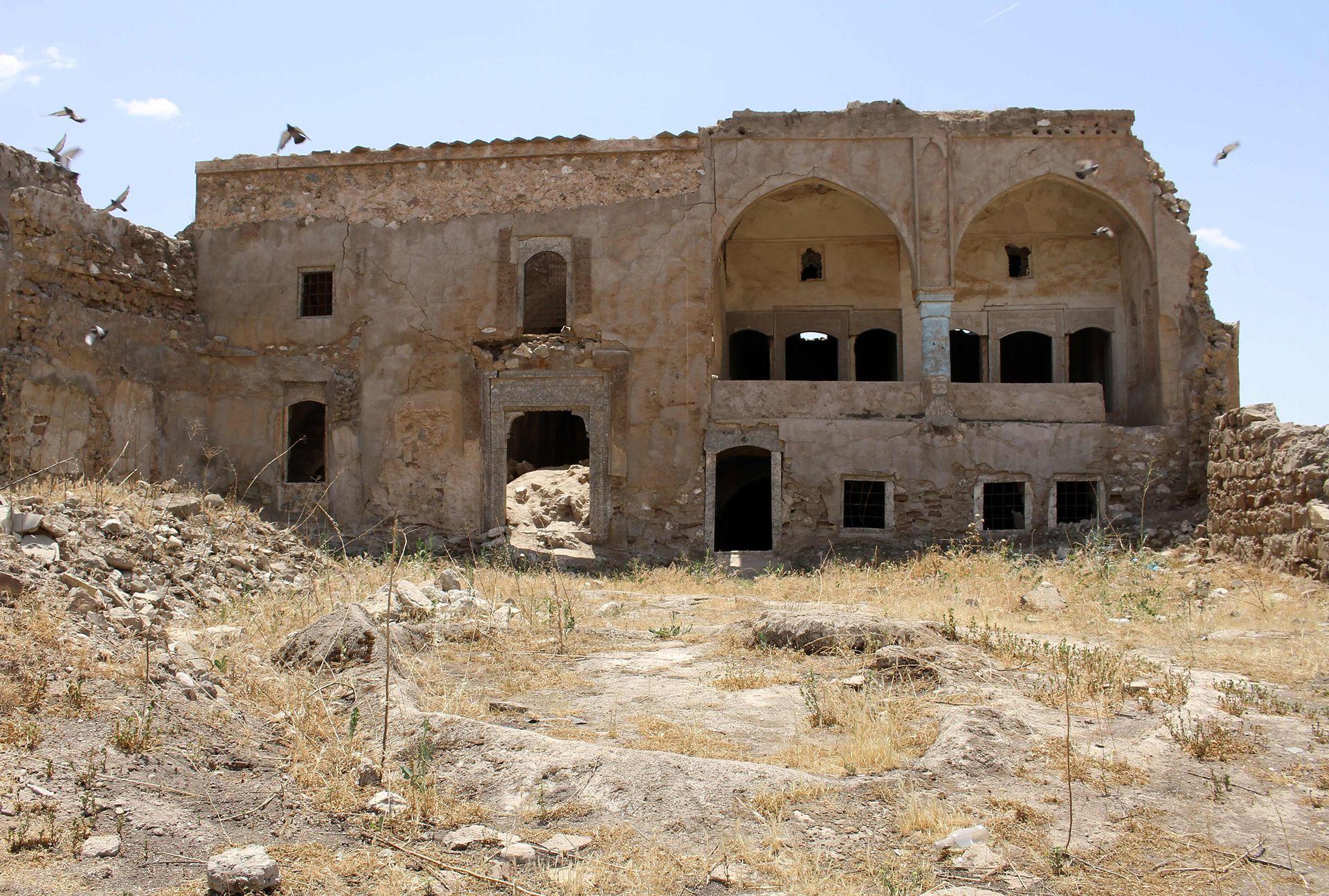 Al igual que Nippur, el deterioro de la ciudadela podría significar que quede fuera de la lista tentativa de patrimonios históricos de la UNESCO