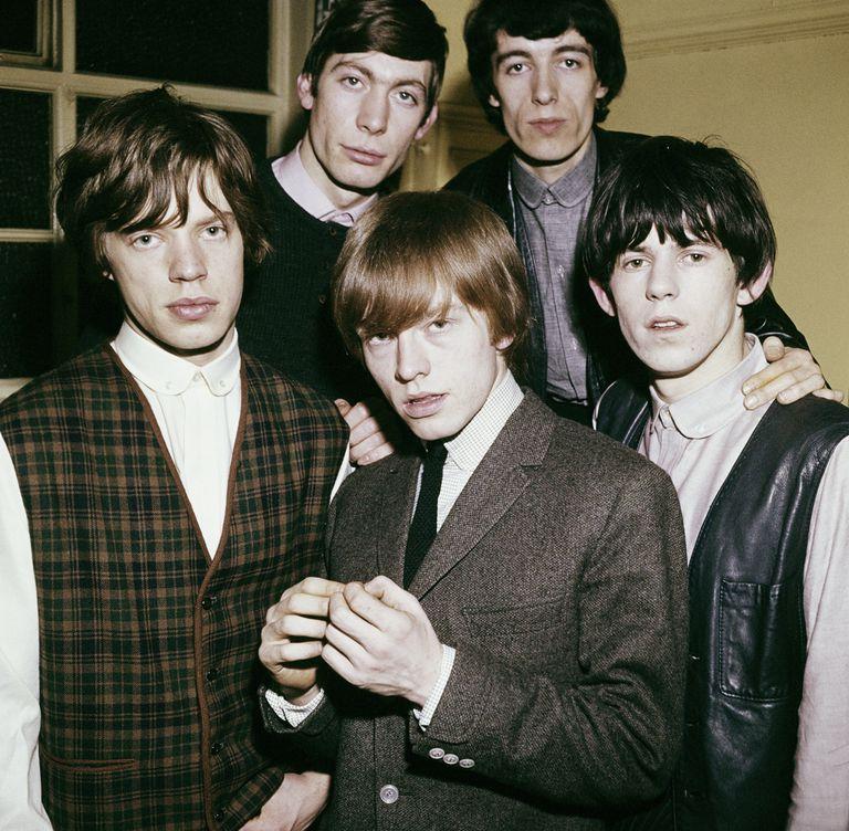 Jagger, Watts, Wyman, Richards y Jones en 1963.